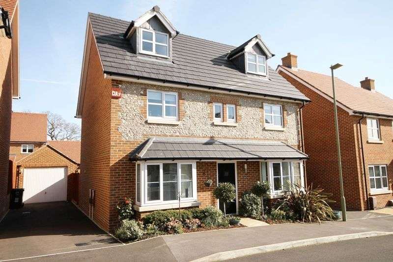 5 Bedrooms Detached House for sale in lapwing close,