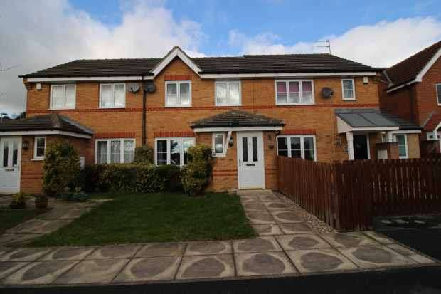 2 Bedrooms Town House for sale in Kestrel Mews, Normanton, West Yorkshire, WF6 1ZU