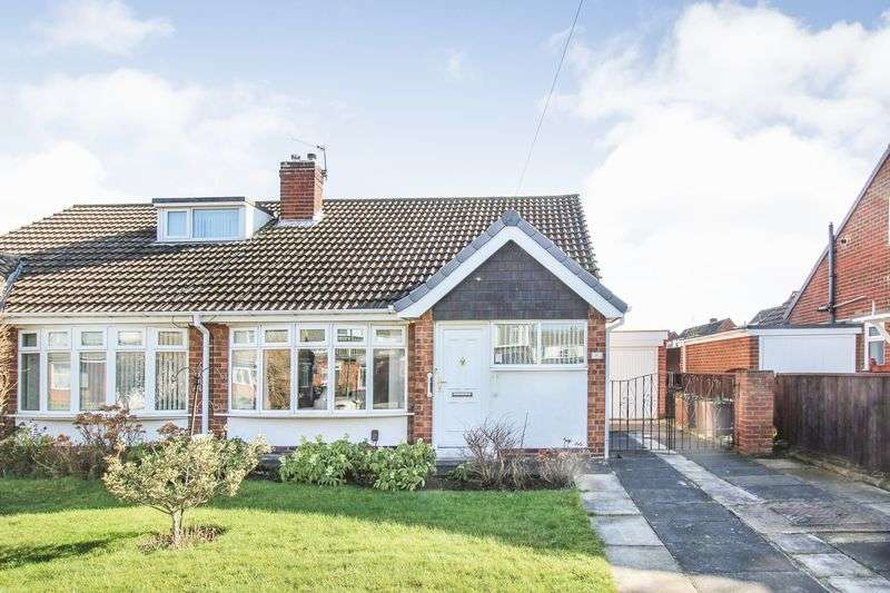 2 Bedrooms Semi Detached Bungalow for sale in Churchill Drive, Marske