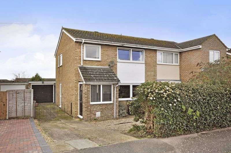 3 Bedrooms Semi Detached House for sale in Philip Gardens, St Neots