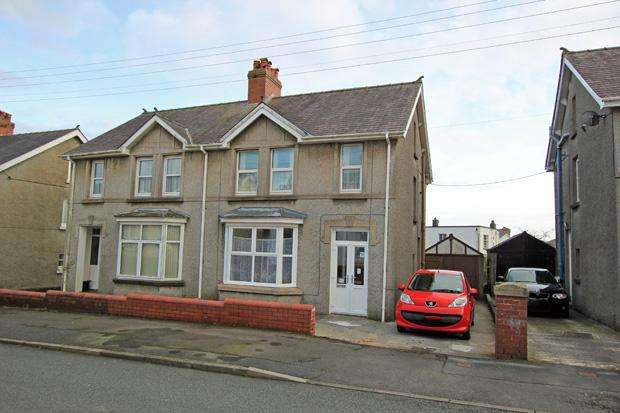 3 Bedrooms Semi Detached House for sale in The Grove, Carmarthen, Carmarthenshire