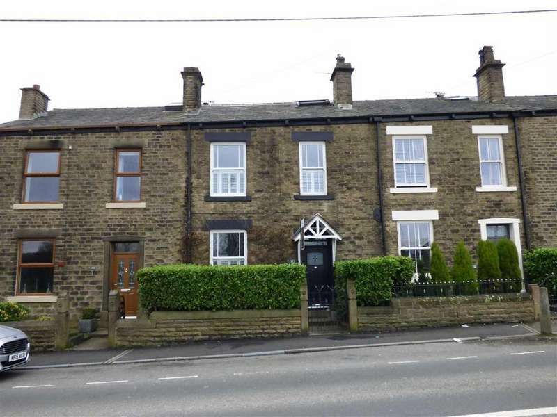 3 Bedrooms Terraced House for sale in Glossop Road, Gamesley, Glossop, Derbyshire, SK13