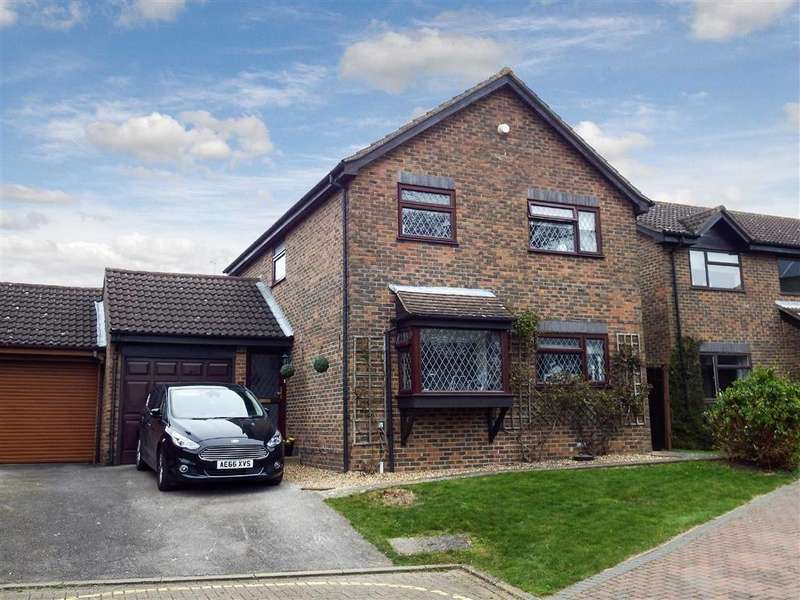 4 Bedrooms Detached House for sale in Boswell Gardens, Stevenage, Hertfordshire, SG1