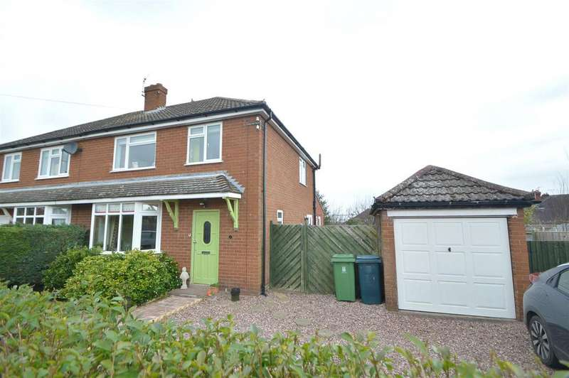 3 Bedrooms Semi Detached House for sale in 6 Langford Avenue, Bayston Hill, Shrewsbury, SY3 0JU