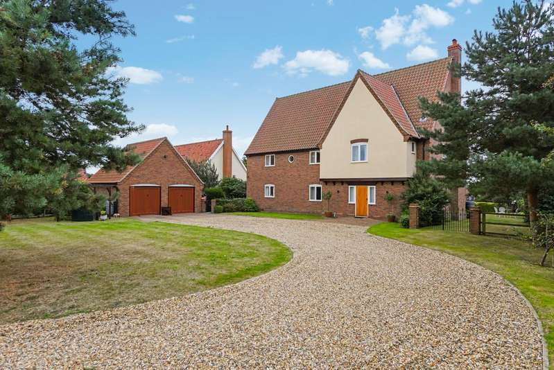 4 Bedrooms Detached House for sale in Benhall, Nr Saxmundham, Suffolk