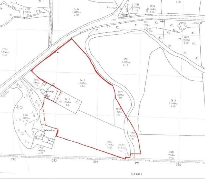 Land Commercial for sale in Cae Syrcas, Abererch, Gwynedd