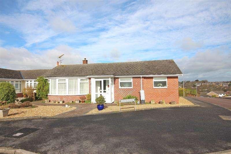 2 Bedrooms Detached Bungalow for sale in Cecil Close, Corfe Mullen, Wimborne