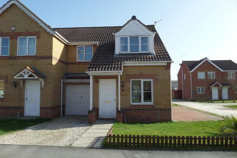 3 Bedrooms Semi Detached House for sale in Riverside Approach, Gainsborough