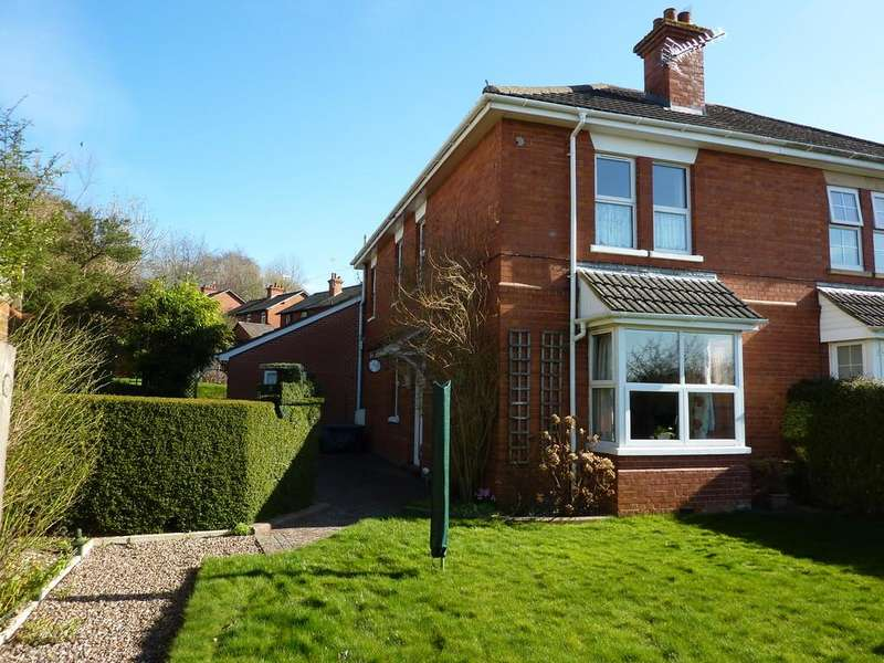 3 Bedrooms Semi Detached House for sale in Railway Cottages, Station Road