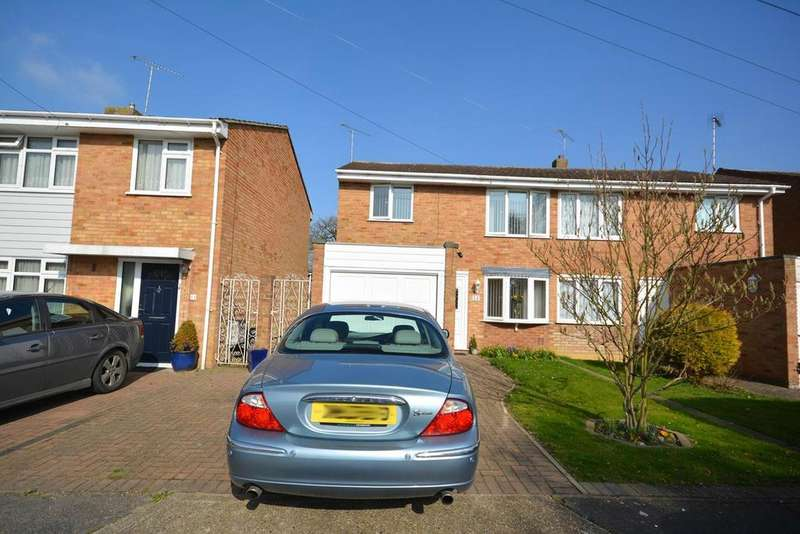 3 Bedrooms Semi Detached House for sale in Weaversfield, Silver End, Witham, Essex, CM8