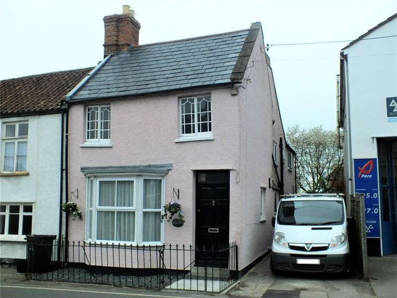4 Bedrooms End Of Terrace House for sale in Church Street, Mark, Highbridge, Somerset, TA9