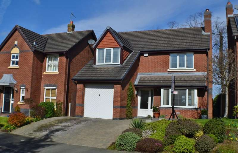 4 Bedrooms Detached House for sale in Elm Drive, Holmes Chapel