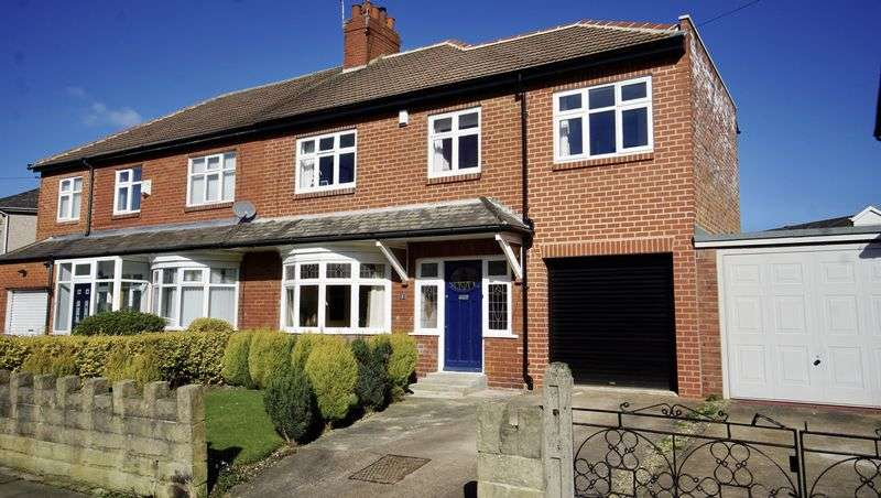 4 Bedrooms Semi Detached House for sale in GRANVILLE DRIVE, Forest Hall