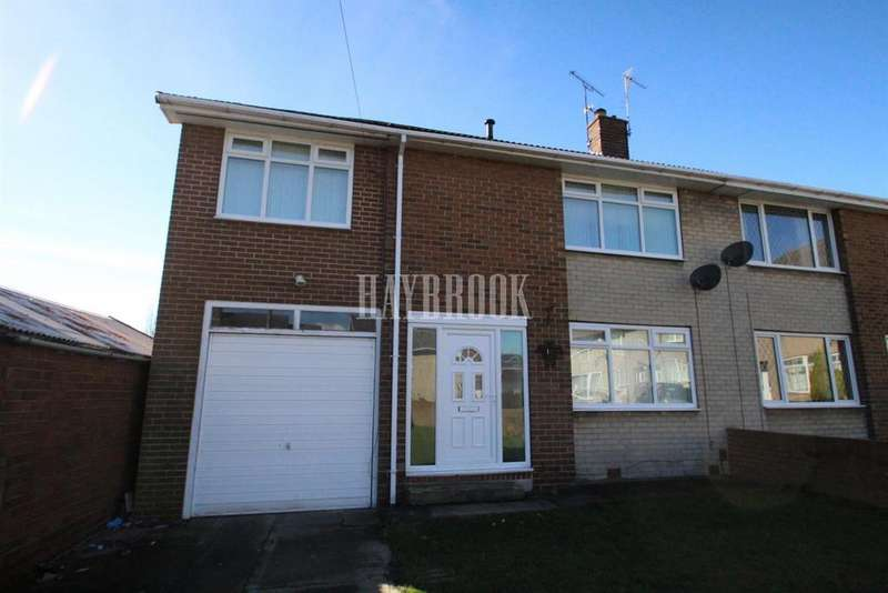 4 Bedrooms Semi Detached House for sale in Rook Hill, Worsbrough
