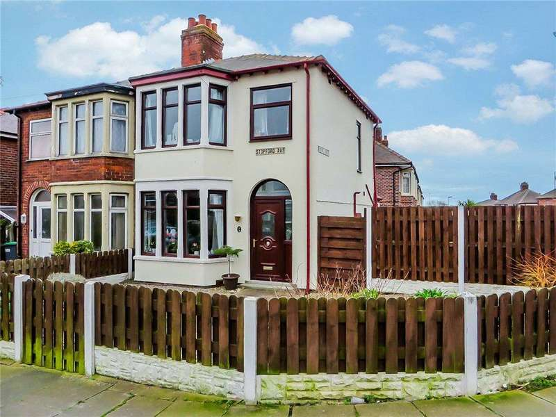3 Bedrooms Semi Detached House for sale in Stopford Avenue, Bispham, Blackpool