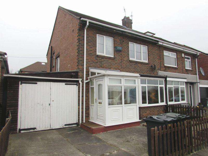 3 Bedrooms Semi Detached House for sale in Valley Gardens, Wallsend - Three Bedroom Semi-Detached House