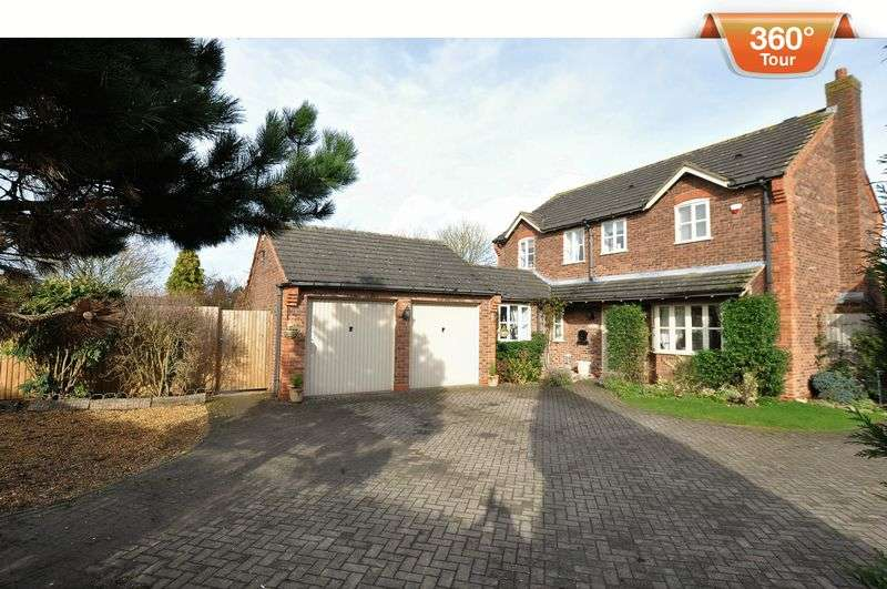 4 Bedrooms Detached House for sale in Rake End, Hill Ridware