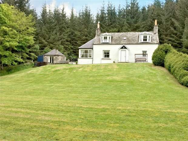 3 Bedrooms Cottage House for sale in Keepers Cottage, Buchromb, Craigellachie, Keith, Moray