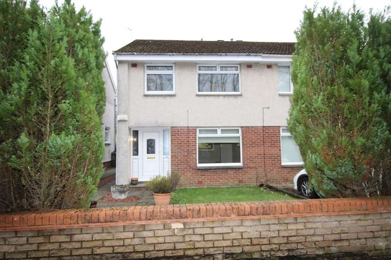 3 Bedrooms Semi Detached House for sale in Forth Crescent, East Kilbride, Glasgow, G75