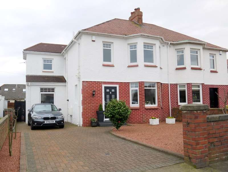 4 Bedrooms Semi Detached House for sale in Adamton Road North, Prestwick, KA9