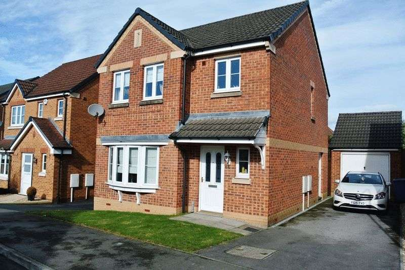 3 Bedrooms Detached House for sale in Kingfisher Road, Mansfield, NG19 6EG