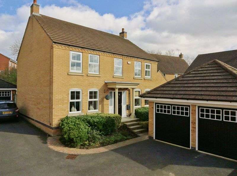 4 Bedrooms Detached House for sale in Newbury Close, Oakley Vale , Corby