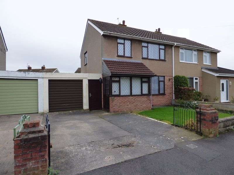 3 Bedrooms Semi Detached House for sale in Ryecroft Avenue, Worle, Weston-super-Mare