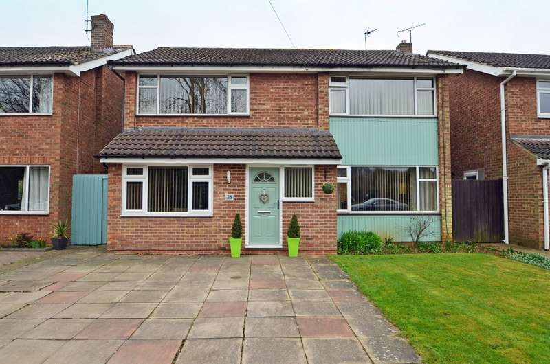 5 Bedrooms Detached House for sale in Brindley Road, Hillmorton, Rugby