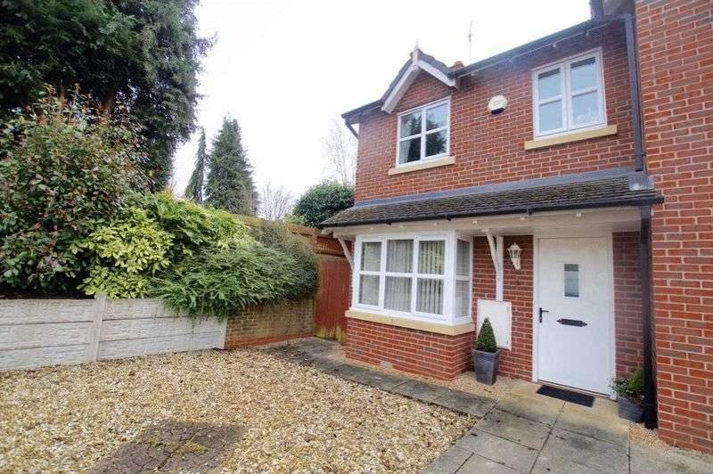 3 Bedrooms Semi Detached House for sale in Trinity Close, Oswestry