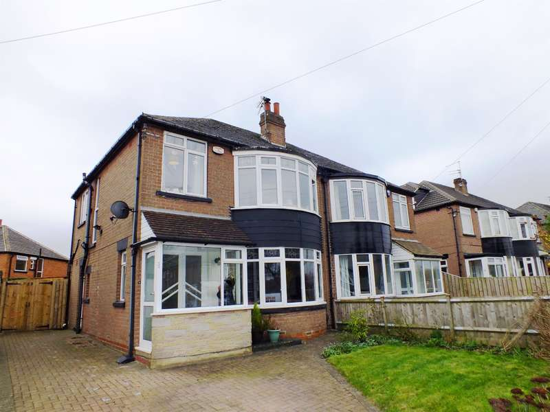 3 Bedrooms Semi Detached House for sale in Shadwell Walk, Moortown, Leeds, LS17 6EG