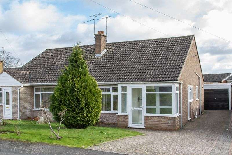 2 Bedrooms Semi Detached Bungalow for sale in St Judes Avenue, Studley