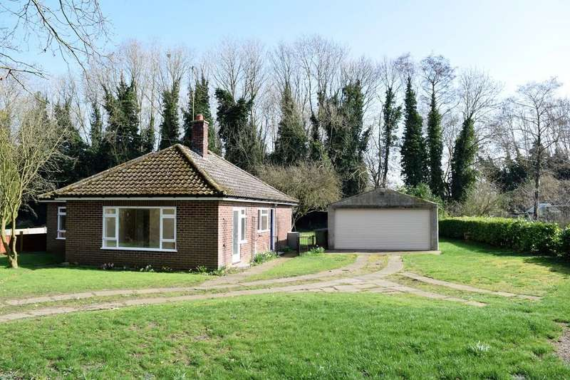3 Bedrooms Detached Bungalow for sale in Watton Road, Wretham