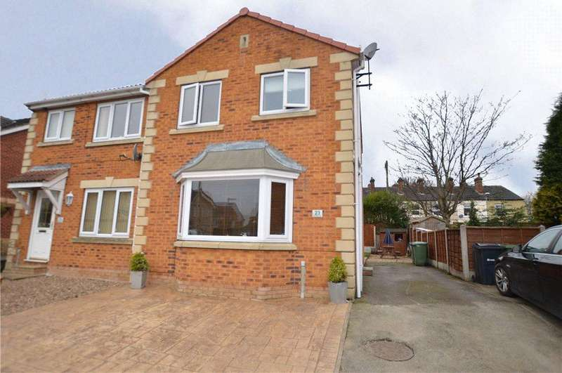 3 Bedrooms Semi Detached House for sale in Broadland Way, Lofthouse, Wakefield, West Yorkshire