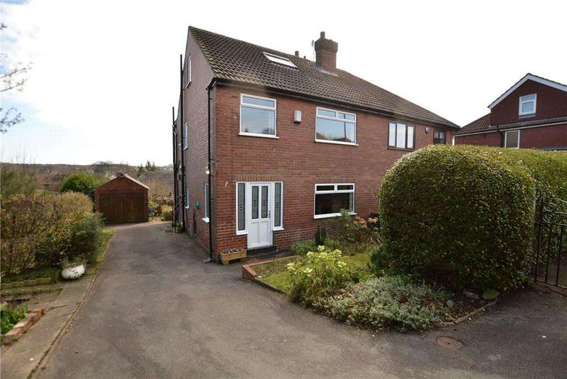 3 Bedrooms Semi Detached House for sale in St Christophers Avenue, Rothwell, Leeds, West Yorkshire
