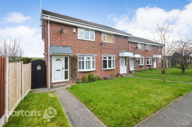 2 Bedrooms Semi Detached House for sale in Westby Walk, Bramley, Rotherham