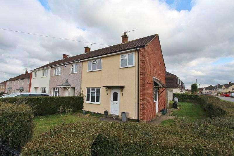 3 Bedrooms End Of Terrace House for sale in Warwick Road, Keynsham, Bristol