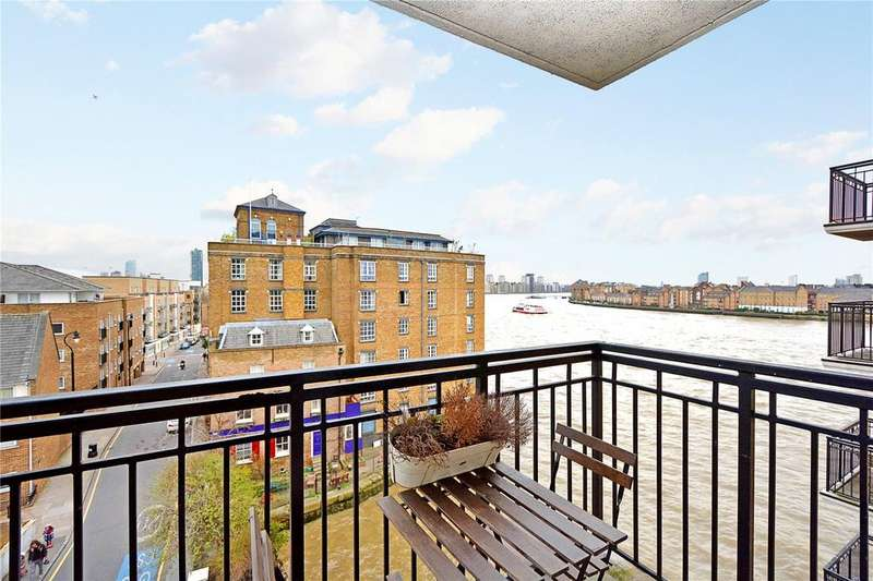 2 Bedrooms Flat for sale in Victoria Wharf, 46 Narrow Street, London