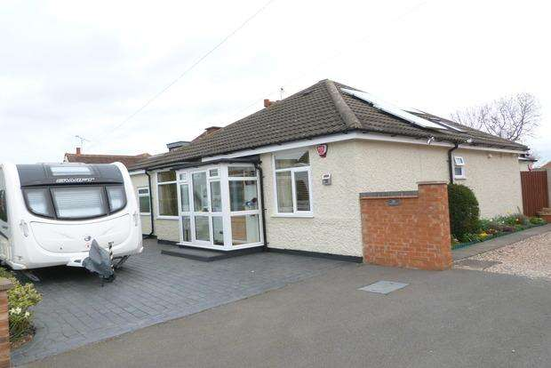4 Bedrooms Bungalow for sale in Highway Road, Thurmaston, Leicester, LE4