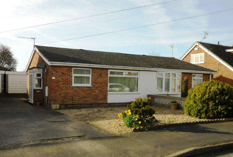 2 Bedrooms Semi Detached Bungalow for sale in Adeliza Garth, Hedon, Hull