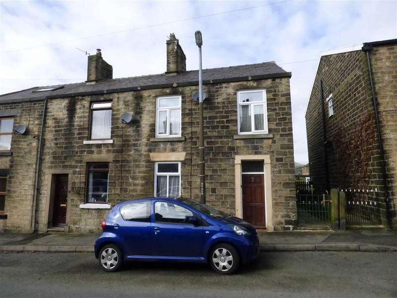 3 Bedrooms End Of Terrace House for sale in Brosscroft, Hadfield, Glossop, Derbyshire, SK13