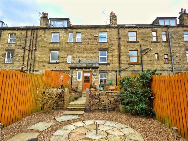 3 Bedrooms Terraced House for sale in New Mill Road, HOLMFIRTH, West Yorkshire, HD9