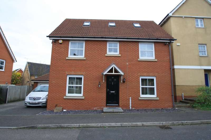 4 Bedrooms Detached House for sale in Cumberland Road, Chafford Hundred