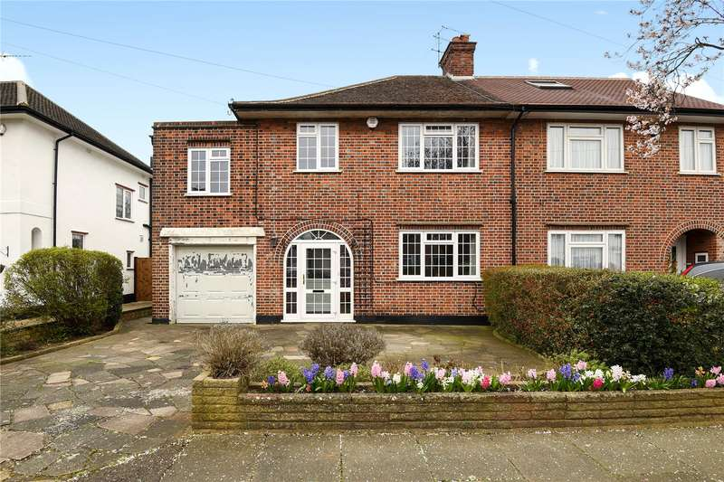 4 Bedrooms Semi Detached House for sale in Boundary Road, Pinner, Middlesex, HA5