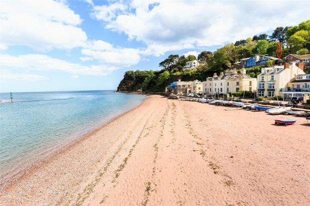 4 Bedrooms Maisonette Flat for sale in Marine Parade, Shaldon, Devon