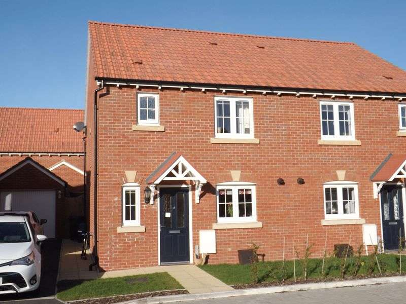 3 Bedrooms Semi Detached House for sale in Shearwater Way, Seaton
