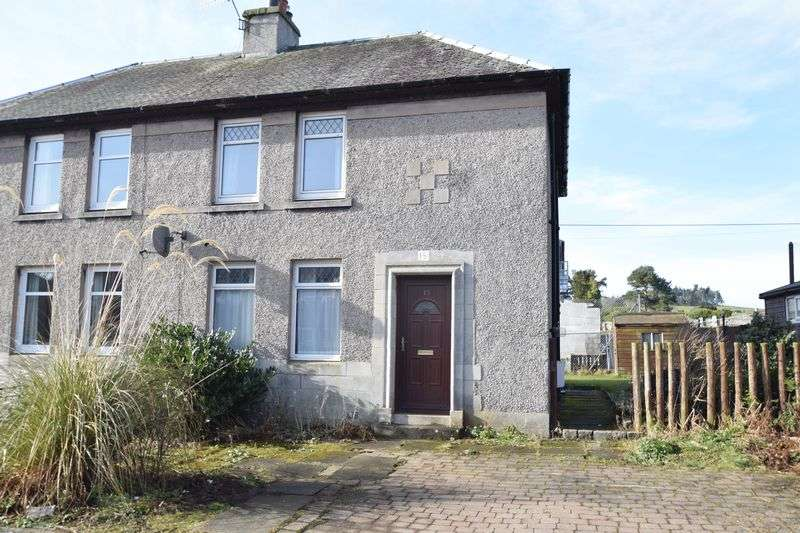 3 Bedrooms Semi Detached House for sale in 15 Northcrofts, Biggar