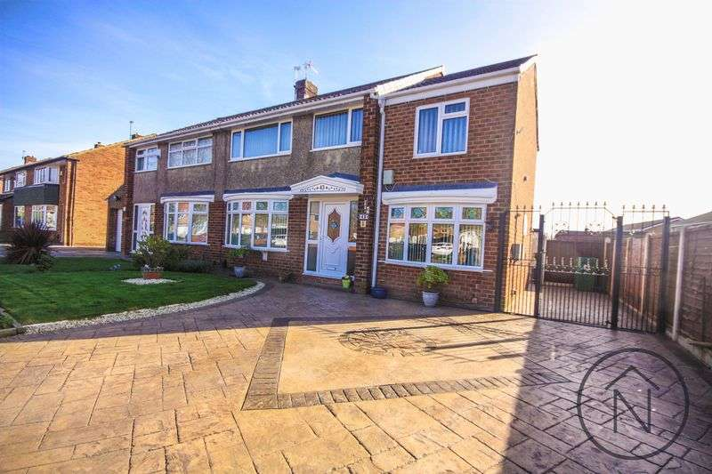 4 Bedrooms Semi Detached House for sale in Tunstall Avenue, Billingham