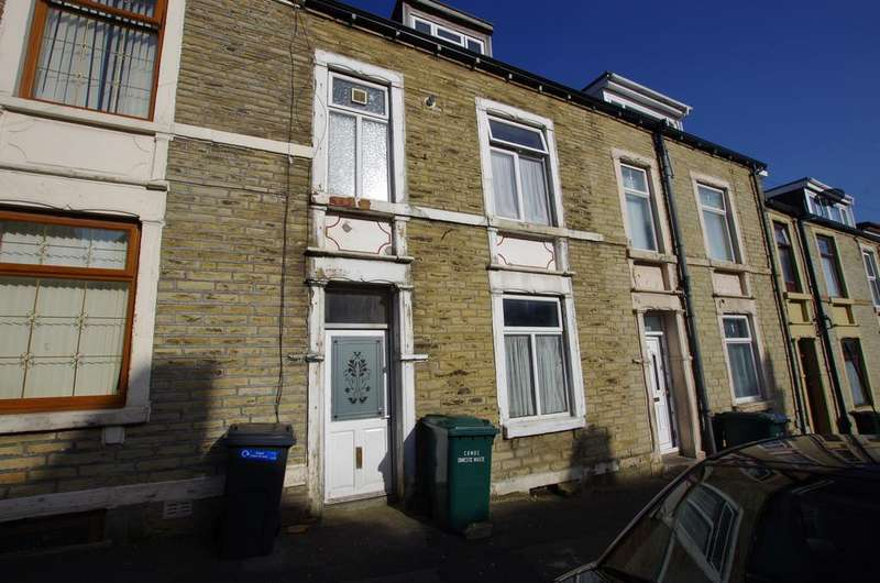 4 Bedrooms Terraced House for sale in ABINGDON STREET, BRADFORD, WEST YORKSHIRE, BD8 8QJ
