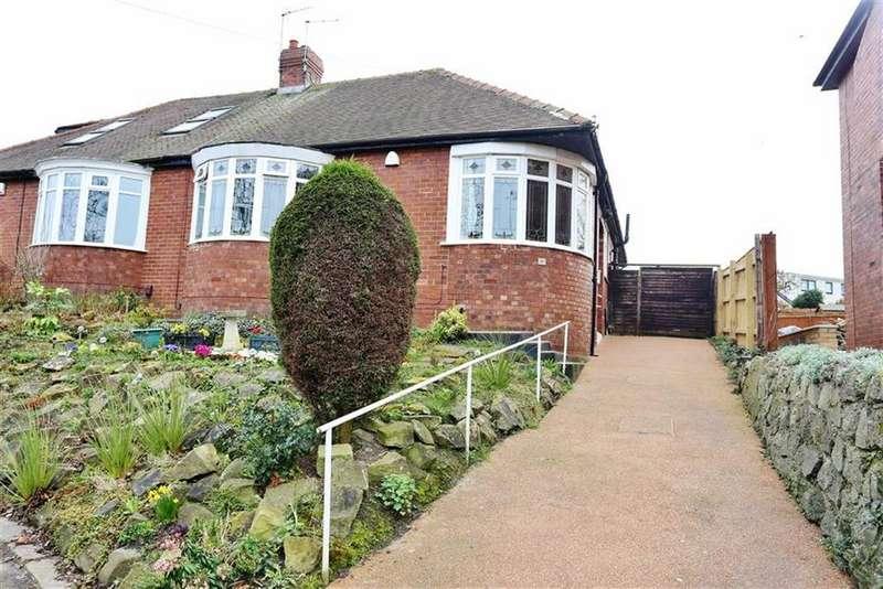 3 Bedrooms Semi Detached Bungalow for sale in Queen Alexandra Road, Ashbrooke, Sunderland, SR3