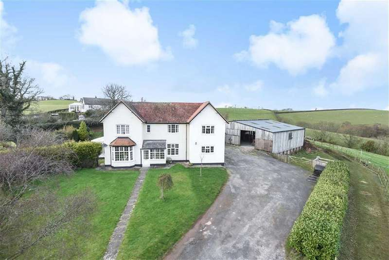 4 Bedrooms Detached House for sale in Longdown, Exeter, Devon, EX6
